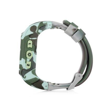 gps tracker horloge kind telefoon sos camouflage