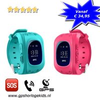gps horloge kind basis tracker telefoon sos