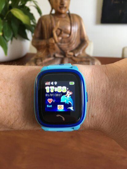 gps tracker horloge kind telefoon sos waterdicht waterproof