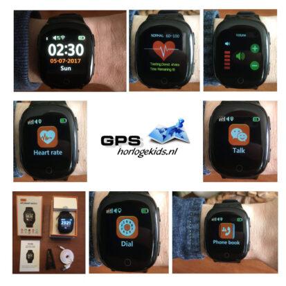GPS/SOS Horloge Senioren Wifi vanaf 84,95 tracker telefoon hartslagmeter
