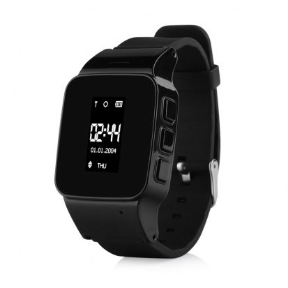 GPS horloge senior wifi basic telefoon tracker sos persoonlijk alarm oudere veiligheid