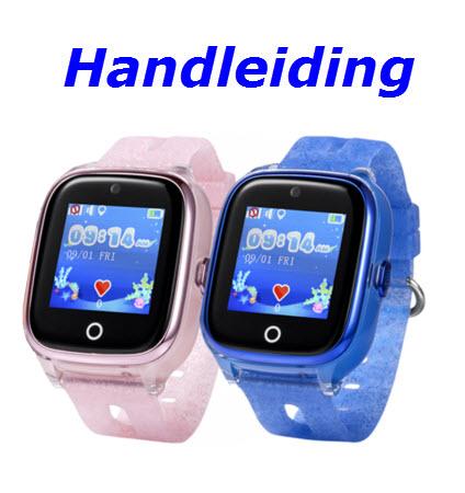 Handleiding gps horloge junior aqua camera 2018 lagoon telefoon sos waterdicht waterproof kind tracker