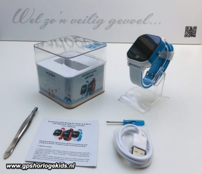 GPS Horloge Junior & Senior Aqua Wifi Sports telefoon sos waterdicht waterproof persoonlijk alarm
