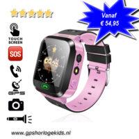 GPS horloge kind camera lantaarn roze tracker telefoon