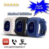 gps horloge kind tracker telefoon sos persoonlijk alarm limited edition