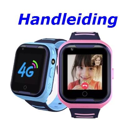Handleiding GPS Horloge Junior AQUA 4G VideoCall