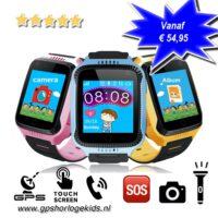 GPS horloge kind camera lantaarn tracker bellen SOS GPSHorlogeKids