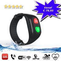 GPS tracker armband Aqua Wifi SOS bellen waterdicht waterproof persoonlijk alarm GPSHorlogeKids