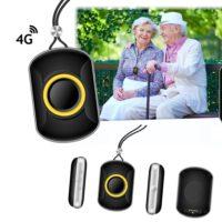 GPS tracker 4G SOS Wifi Long Life Aqua telefoon sos waterdicht waterproof tracker videobellen persoonlijk alarm GPSHorlogeKids