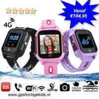 gps horloge kind next junior 4G aqua wifi videocall telefoon sos waterdicht waterproof junior tracker videobellen GPSHorlogeKids