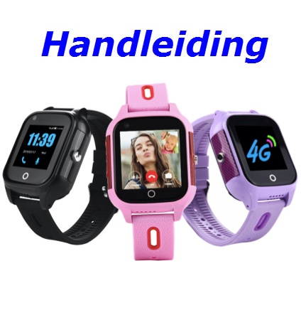 Handleiding GPS Horloge Junior Next 4G Videobellen IP67 waterdicht